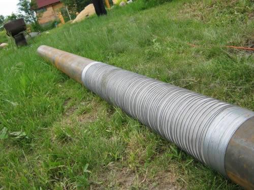 Оборудования скважины фильтром и водоприемными трубами