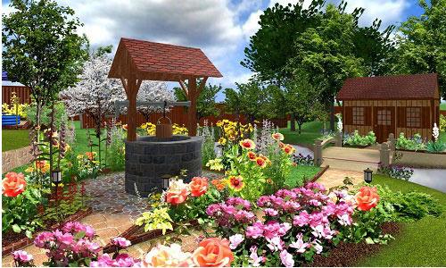 Дизайны садовых участков 6 соток фото своими руками 214