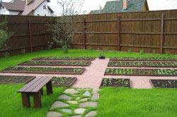 Садово-огородная зона участка