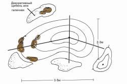 Наглядная схема альпийской горки