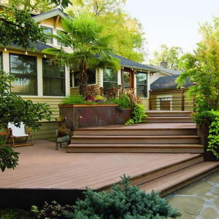 Внутренний дворик дизайн дома 182