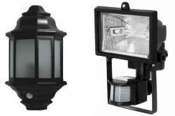 Галогенные лампы с датчиком движения