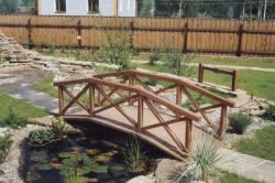 Дачный мостик