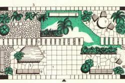План зимнего сада
