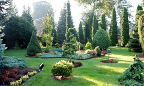 Садово-парковый стиль оформления