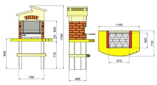 Схема изготовления мангала