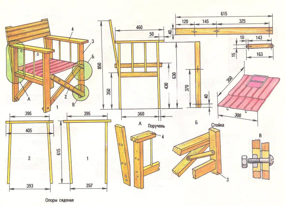 Як можна зробити стілець з дерева?.