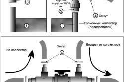 Схема установки подогрева для бассейна