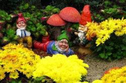 Садовые человечки