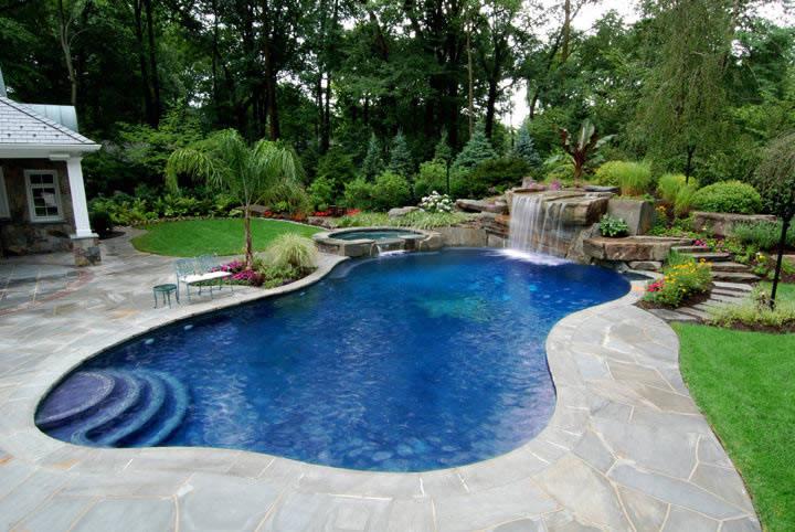 Ландшафтный дизайн водоемов фото