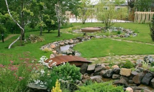 Ландшафтный дизайн на даче
