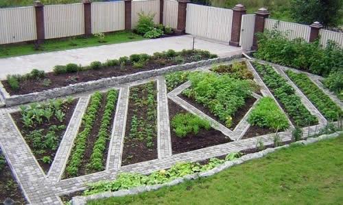 Украсить огород своими руками с фото фото 913