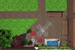 Схема планировки участка 6 соток