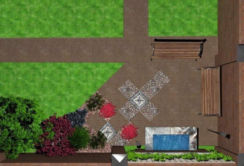 Схема планировки участка 6