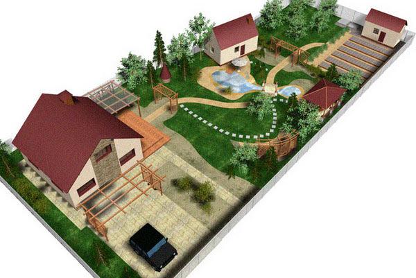Дорожки и площадки