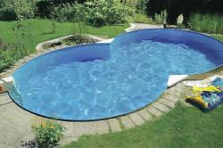 Облицовка дачного бассейна