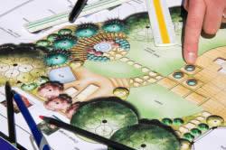Схема садового участка