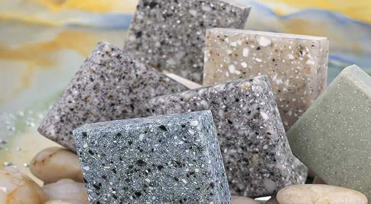 Искусственный акриловый камень.