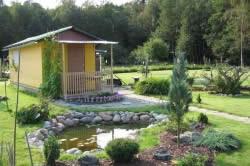 Мини-водоем около дома