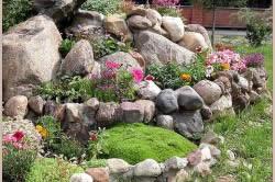 Садовые камни как украшение