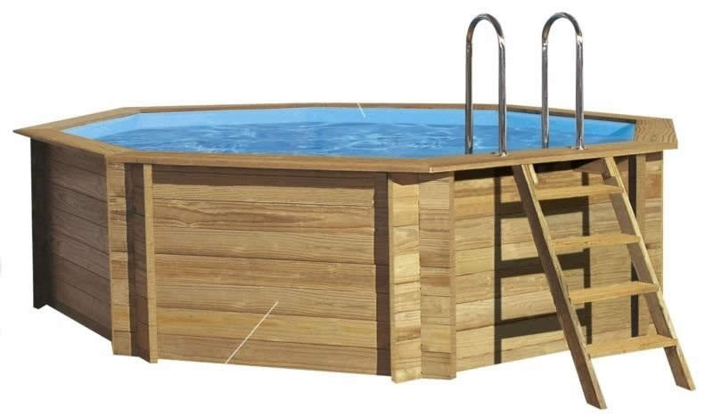 Лесенка для каркасного бассейна своими руками