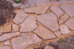 Кладка дорожки из камня