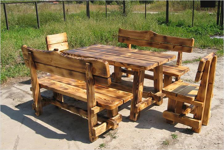 Деревянный стол своими руками фото