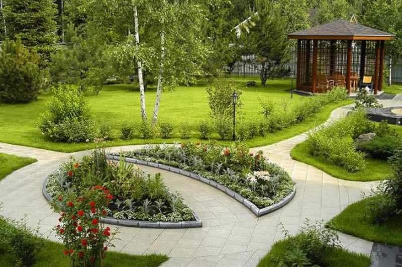 Ландшафтный дизайн и озеленение.