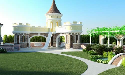 Ландшафтный дизайн сада частного дома