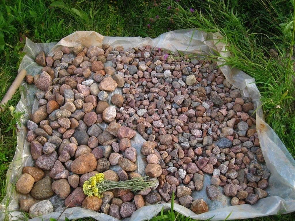 Облицовка камнем колодца своими руками