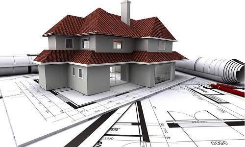 Проект дома и прилегающей к нему территории