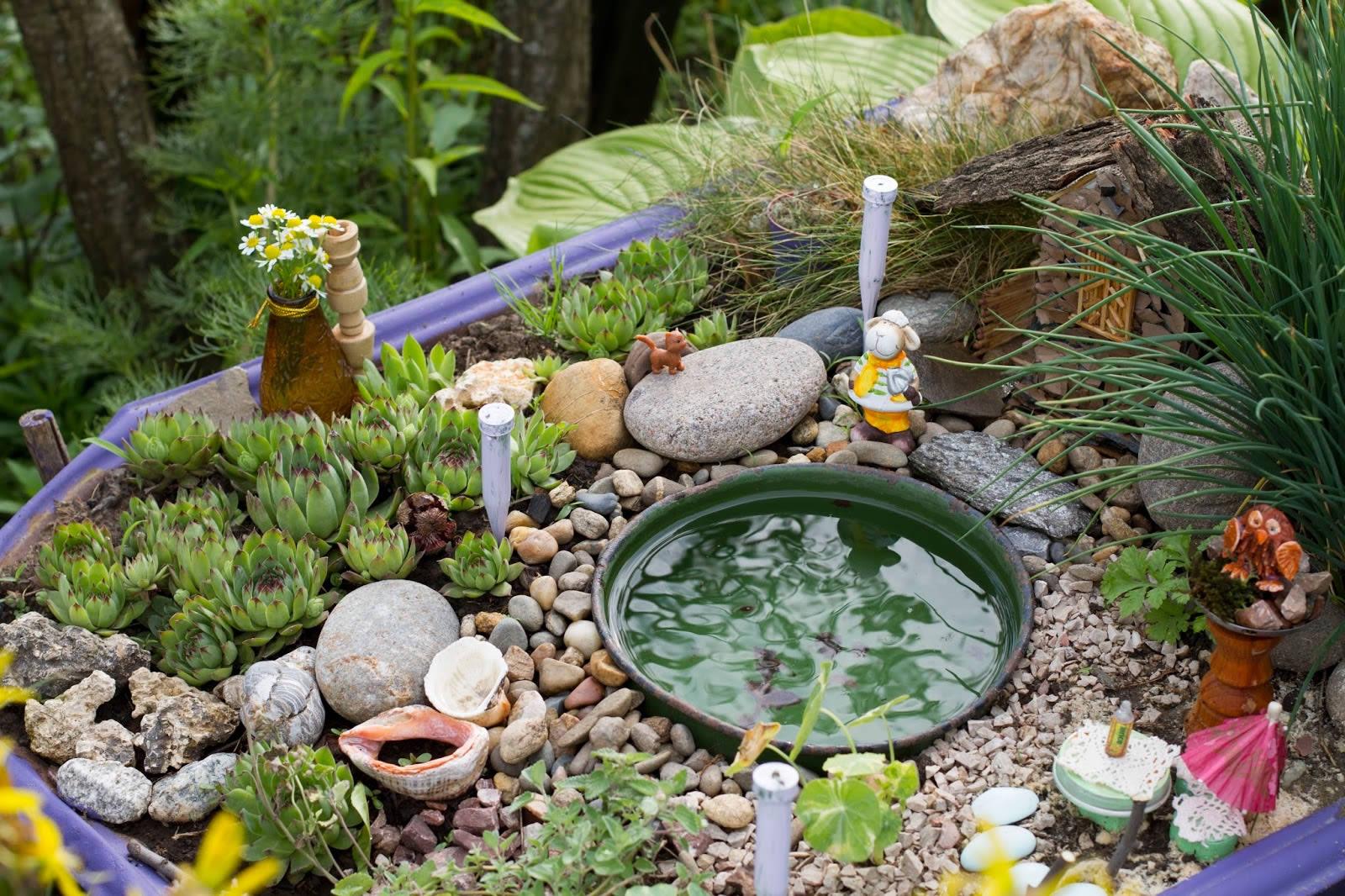 Как правильно сделать горку из камней в саду своими руками