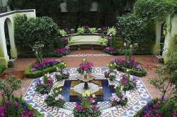 Дизайн сада в мавританском стиле