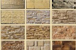 Варианты отделки стены декоративным камнем