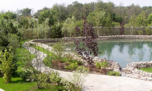 Озера в саду своими руками