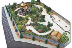 План японского сада