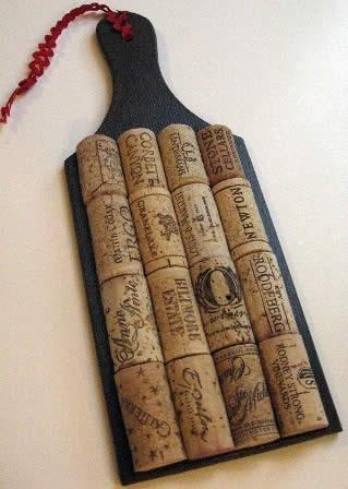 Ручка для ножа своими руками из пробки