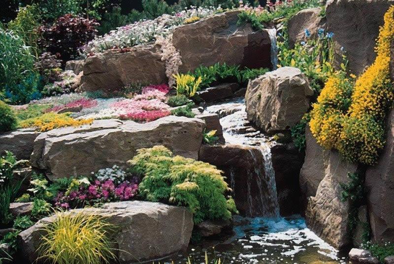 Каменистый сад на участке