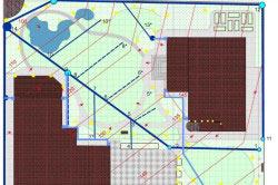 Схема дренажа на участке
