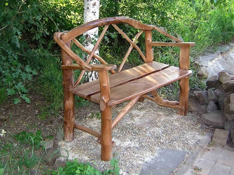 Строительство скамейки для сада - отличное решение. Всегда найдется место для отдыха после тяжелого трудового дня.