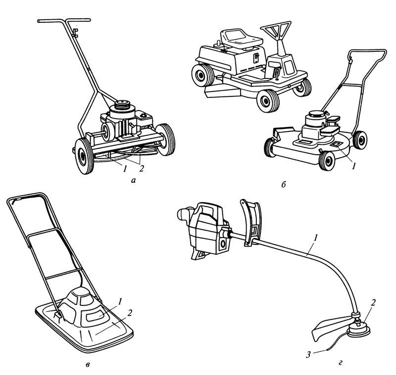 Как выбрать газонокосилку бензиновую
