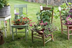 Способы украшений сада