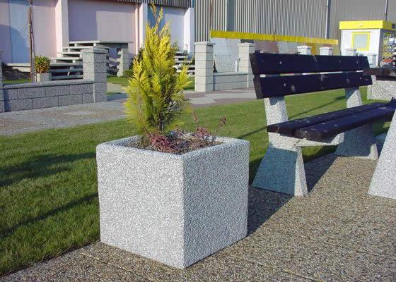 Вазоны для цветов из бетона и ткани своими руками