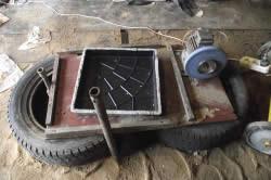 Материалы и инструменты для устройства простого вибростола