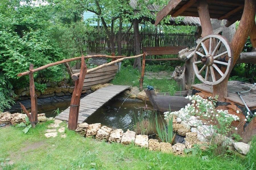 Дизайн приусадебного участка своими руками в деревне