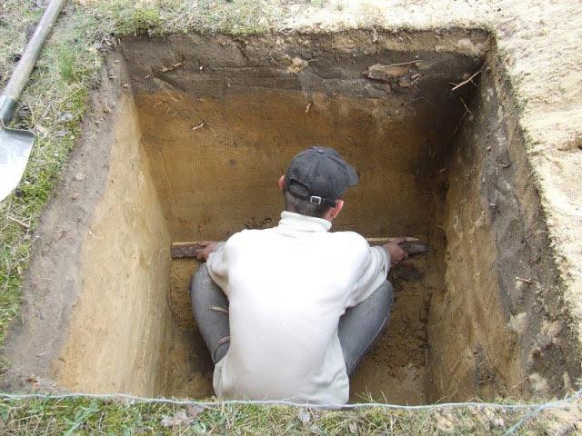 Как яма под туалет своими руками