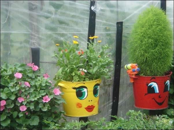 Как украсить сад поделки своими руками