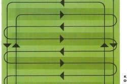 Схема последовательности посева