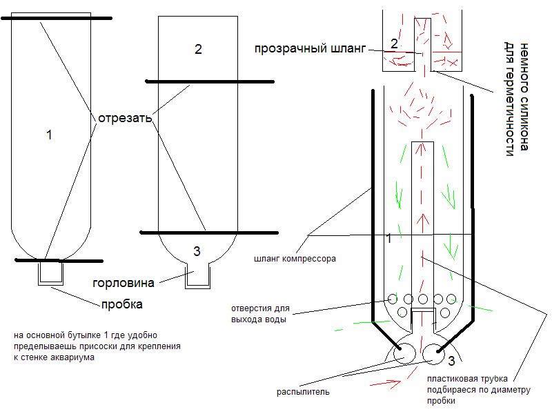 Схема самодельного скимера