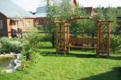 Архитектура в саду